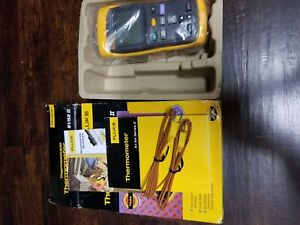 Fluke 51 52 Ii Thermocoupler Thermometer New In Box