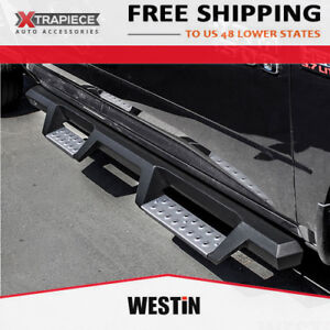 07 20 Toyota Tundra Crewmax Cab Westin Hdx Stainless Drop Nerf Bars Side Steps