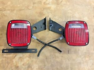 Ford Truck Cab Chassis Trailer Rv Camper Universal Grote Tail Light Set