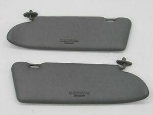 Mercedes Benz 420 Sel Sun Visor Set Pair 81 82 83 84 85 86 87 88 89 90 91 420sel