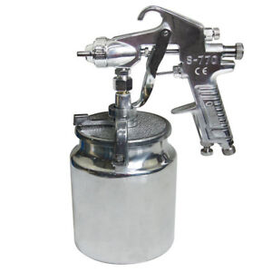 Air Compressor Paint Spray Gun Car Truck Sprayer 1000l Diy Tool Uk T15