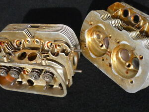 Cylinder Head Set Dual Port 100 Genuine Vw Audi Complete With Valves See Notes