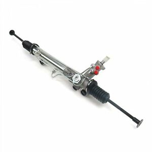 New For Mustang Ii 2 Power Steering Rack Pinion Stock Finish Street Rod