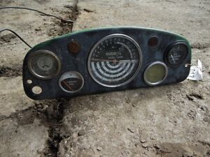 John Deere 1010 Tractor Dash guages Tag 917