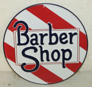 Vintage Style Barber Shop Signs Gas Station Garage Man Cave