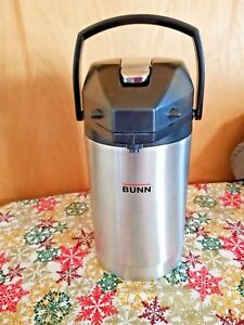 Bunn Stainless Steel Lever Action Airpot Coffee Dispenser 84 Oz 32125