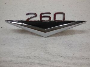 64 Ford Falcon 64 1 2 Mustang 260 Fender Emblem