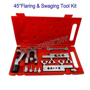 New Flaring Swaging Tool Kit Tube Pipe Expander Air Condition Refrigeration