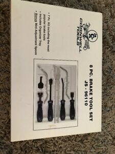 Cornwell Tools 8 Pc Brake Tool Set Js 96110 Brand New Sealed