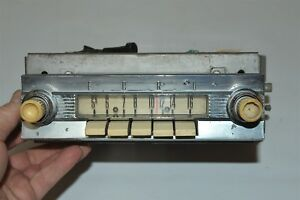 84bf Old Ford Fomoco Classic Retro Vintage 1958 Dash Radio Made In Usa 1950 s
