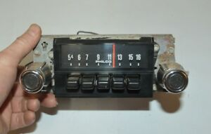 Old Ford Fomoco Philco Classic Retro Vintage Original Car Dash Radio Made In Usa