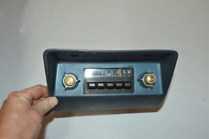 Old Ford Pinto Fomoco Classic Retro Vintage Original Car Dash Radio D8ef 18806