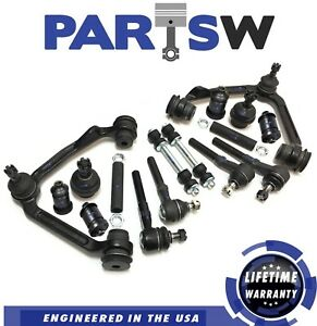 16 Pc Suspension Kit For Licoln Navigator Ford F150 Control Arms