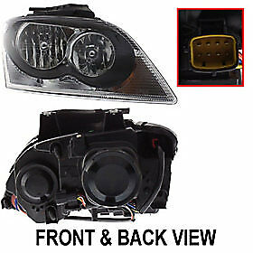 Headlight For 2005 2006 Chrysler Pacifica Passenger Side W Bulb