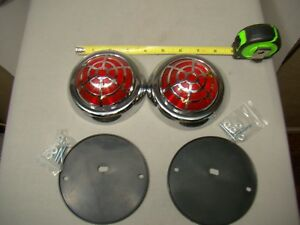 Spider Web Tail Light 50 Pontiac Tail Light Custom Tail Lights Led Lights Ratrod