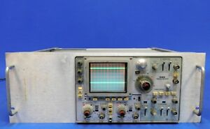 Tektronix 485 Analog Oscilloscope Dual trace 350 Mhz Untested Item As Is
