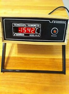 Omega Thermopcouple Thermometer model 115 Jc