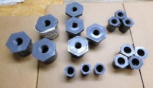 Nibco Chemtrol Reducing Hex Bushings Mixed Lot Of 17