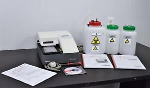 Tecan Hydroflex Microplate Washer Shaker Automated Buffer Switching Elisa Cells