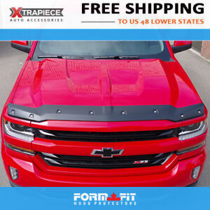 16 18 Chevy Silverado 1500 Tough Guards Hood Protectors Bug Shields Deflectors