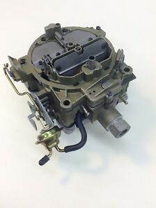 Rochester Quadrajet 7040263 1970 Pontiac Gto Firebird 400 4 Speed Engine