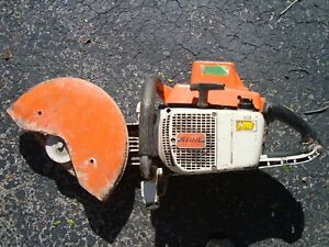 Stihl Ts510av Concrete Cutoff Demo Saw For Parts Or Repair only Local Pickup
