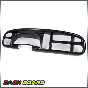 Truck Dashboard Bezel Cover Lay For 1998 2002 Dodge Ram Pickup Ram 1500 2500