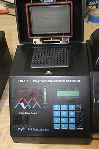 Mj Research Ptc 100 Pcr Programmable Thermal Cycler Working