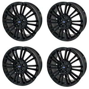 Ford Performance 19 Mk3 Focus Rs Wheels Set 5x108 Lug Pattern 50mm Offset