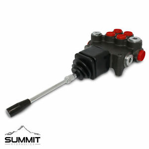 Hydraulic Directional Control Valve For Tractor Loader W Joystick 2 Spool 21