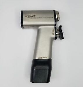 Stryker 4100 Cordless Surgical Driver Handpiece With 4112 Battery Fully Tested