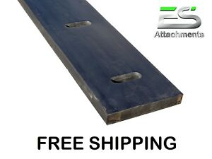 8 1 1 2 X 8 Rubber Cutting Edge Snow Pusher Snow Plow Rubber Protech