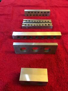 Machinist Parallels 5 Pair Hardened And Precision Ground