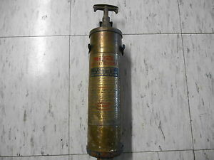 Mopar Vintage Car Fire Extinguisher Unrestored 1930 S 1950 S
