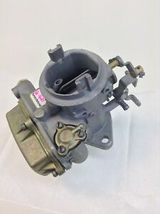 Holley 1920 Carburetor R 2647 1964 1965 Jeep Willys 230 Engines Hand Choke