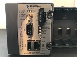 National Instruments Ni Crio 9012 Real time Controller W Crio 9101 Chassis
