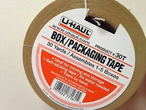 Tape New Box Packaging Shipping Tape Great For Boxes 30 Yrds X 2 Wide Shipsfast