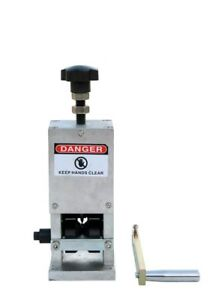 Copper Wire Stripping Machine Hand Crank Drill Operated Cable Stripper New s11