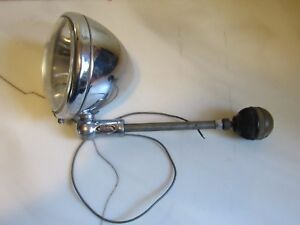 Vintage Original Mobilite Sealed Beam Master 6v Driving Spotlight Ford Chevy