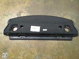 2008 Bmw 335i Coupe Rear Speaker Shelf Deck Shade Housing Cover Panel Black Oem