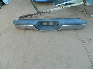 2000 2001 2002 2003 204 2005 2006 Toyota Tundra Rear Bumper With Chrome