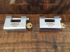 U shaped Keyed Padlock 9 16 In H kd Abus 92 80 Kd