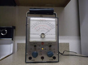 Refurbished 1959 Rca Voltohmyst Vtvm Voltmeter Wv 77e For Service