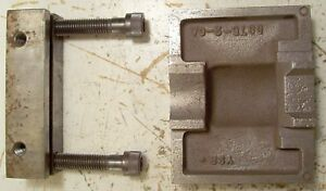 Kurt Vise Parts D675 solid Jaw And Movable Jaw