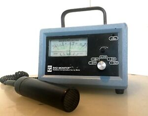 Rpi Rad Monitor Gm 1 Geiger Scintillation Radiation Contamination Survey Meter