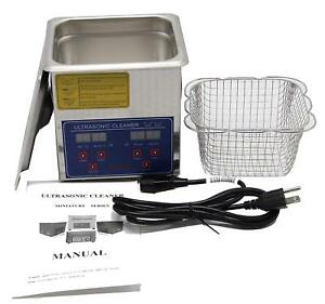 Huanyu Ps 10a Industrial Commercial Digital 2l Heated Ultrasonic Cleaner