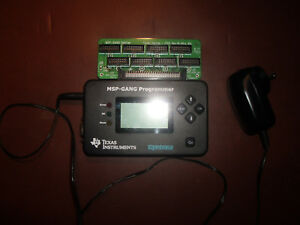 Texas Instruments Msp gang Programmer With Power Supply