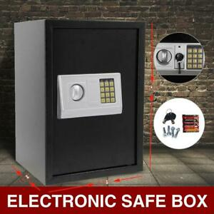 Large Digital Electronic Keypad Lock Depository Safe Box Security Home Gun Cash