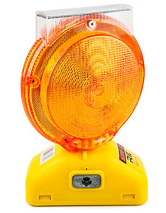 Rk Safety Blight st Solar Rechargeable Barricade Amber Led Warning Lights Type