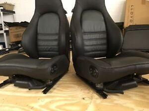 Brand New Leather Front Porsche Sports Seats Oem
